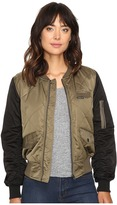Members Only Diamond Quilted Bomber Jacket Women's Coat