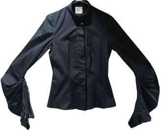Preen Black Cotton Top for Women