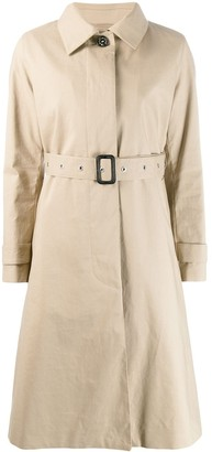 MACKINTOSH ROSLIN Fawn RAINTEC Cotton Single Breasted Trench Coat | LM-061FD