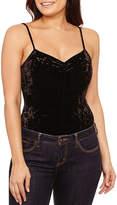 Bisou Bisou Shirred Sleeveless Bodysuit