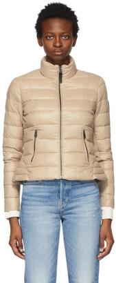 Mackage SSENSE Exclusive Beige Down Lightweight Reema Puffer Jacket