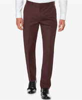 Perry Ellis Men's Slim Fit Flat Front Dress Pant