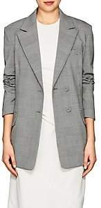 Proenza Schouler Women's Checked Stretch-Wool Two-Button Blazer - Blk, Wht