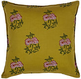LIFE by Muriel Brandolini Floral Pillow