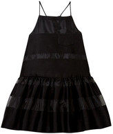 Milly Minis Stripes Filcoupe Strappy Dress (Toddler & Little Girls)