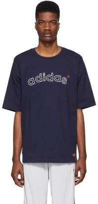 adidas Navy Archive Logo T-Shirt