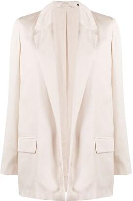 AllSaints Open-Front Blazer