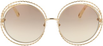 Chloé Carlina Twist Round Sunglasses