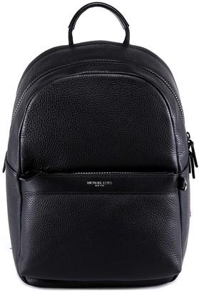 Michael Kors Logo Zip-Up Backpack