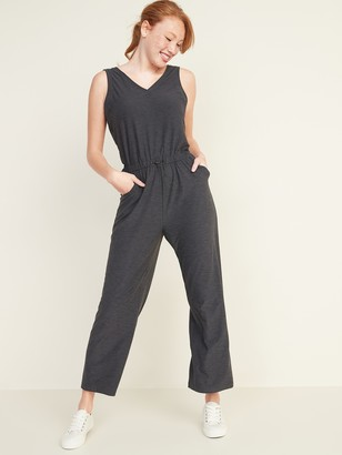 Old Navy Breathe ON V-Neck Wide-Leg Jumpsuit for Women