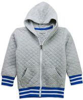 Sovereign Code Boys 2-7 Hooded Varsity Jacket