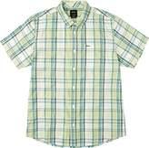 RVCA Men's Stanek Plaid Short Sleeve Shirt