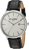 Ben Sherman Men's WB001WA Portobello Professional Analog Display Quartz Black Watch