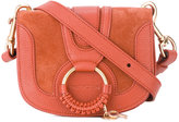 See by Chloe Hudson satchel - women - Cotton/Goat Skin/Suede - One Size