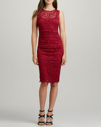 Velvet by Graham & Spencer Rhumba Stretch Lace Dress
