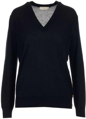 Givenchy V-Neck Knitted Jumper