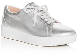 FitFlop Silver Women's Sneakers | Shop