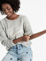 Lucky Brand Triumph Distressed Pullover