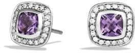 David Yurman Petite Albion® Earrings With Amethyst And Diamonds