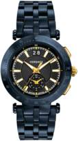 Versace V-Race Sport Blue Dial Watch