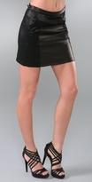 Rag & Bone Paneled Miniskirt