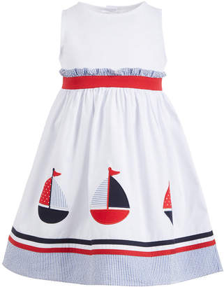 Good Lad Toddler Girls Sailboat Dress