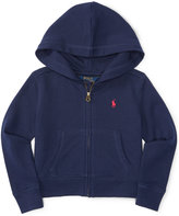 Ralph Lauren Fleece Hoodie, Toddler & Little Girls (2T-6X)