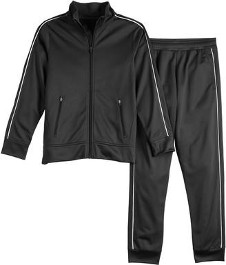 Tek Gear Boys 8-20 Jacket & Pants Track Suit Set