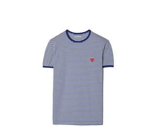 Tory Burch Striped Ringer T-Shirt
