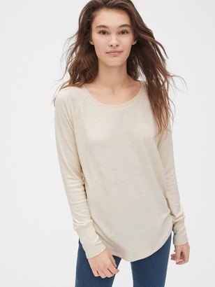 Gap Softspun Raglan Sleeve T-Shirt
