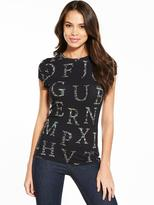 Ted Baker Giia Unity Floral A-Z Fitted Tee