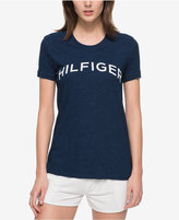 Tommy Hilfiger Cotton Denim Logo T-Shirt, Only at Macy's