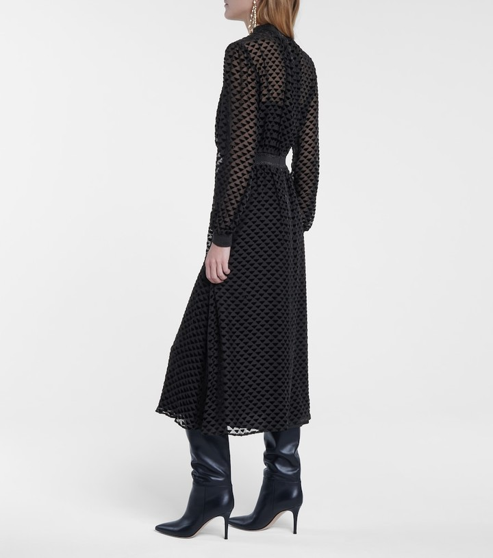 Thumbnail for your product : Tory Burch Pleated maxi dress