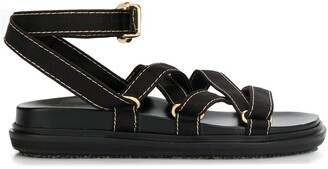Marni Strappy Buckled Sandals
