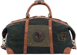 Ghurka Surplus Cavalier Ii Leather Duffle Bag W/ Patch