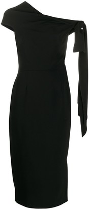 Roland Mouret Howe one shoulder dress