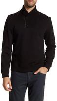 Calvin Klein Quarter-Zip Ribbed Collar Pullover