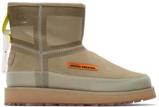 Heron Preston Beige UGG Edition Urban Tech Boots
