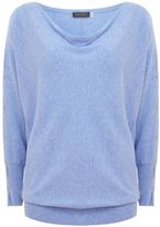 Mint Velvet Bluebell Split Sleeve Batwing Knit
