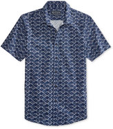 American Rag Men's Patch Shibori Cotton Shirt, Only at Macy's