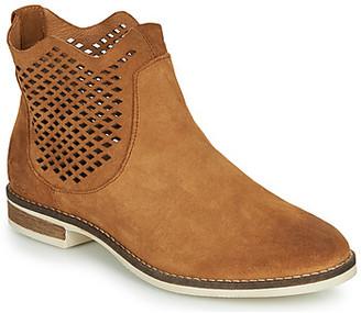 Pataugas MAEVA women's Mid Boots in Brown