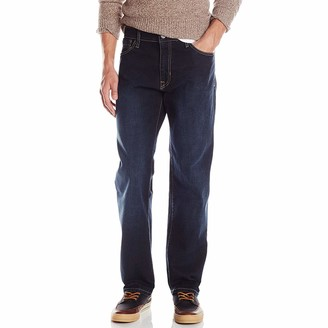 Izod Men's Comfort Stretch Denim Jeans (Relaxed Fit)
