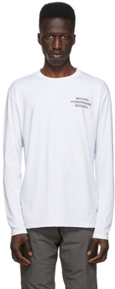 Western Hydrodynamic Research SSENSE Exclusive White Sun Long Sleeve T-Shirt