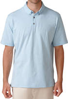 Ashworth Sanded Jersey Mini Stripe Golf Shirt