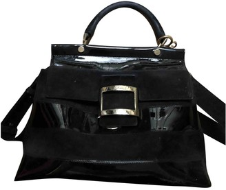 Roger Vivier Black Leather Handbags