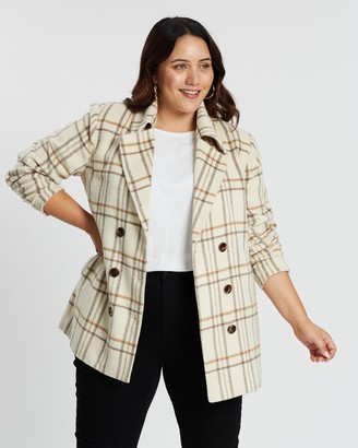 Atmos & Here Sarah Double-Breasted Coat