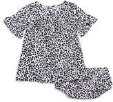Splendid Girls' Printed Dress & Bloomers Set - Baby