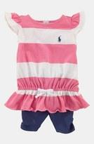 Ralph Lauren Stripe Top & Leggings (Baby Girls)