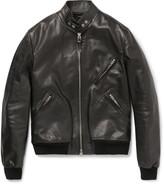 Tom Ford - Slim-fit Leather Bomber Jacket
