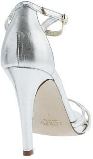 J.Crew Metallic leather high-heel sandals